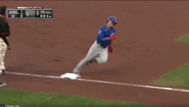 Photo of Watch: Javy Baez Hits Two-Run Inside-the-Park Home Run