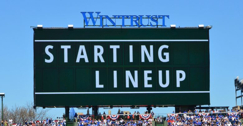Chicago Cubs Lineup