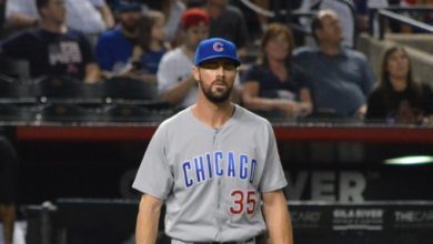 Photo of The Rundown: Phils Drub Cubs, Rude Homecoming for Hamels, Cardinals Grab Share of First
