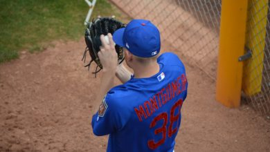 Photo of Mike Montgomery Encouraged by Second Rehab Start, Could Be Activated Soon