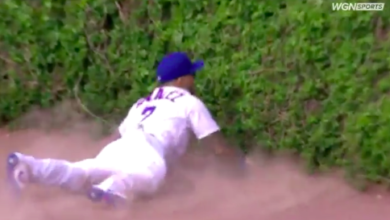 Photo of Watch: Carlos González Makes Spectacular Run-Saving Catch in Cubs Debut