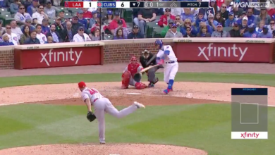 Photo of Watch: Javy Baez, Willson Contreras Go Deep in 7th Inning Against Angels