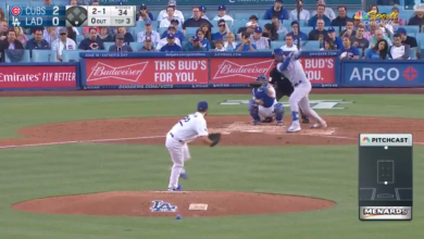 Photo of Watch: Kris Bryant Goes Deep in Los Angeles Against Kershaw