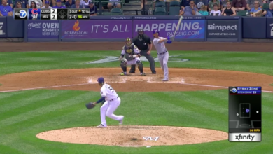 Photo of Watch: Albert Almora Gives Cubs Lead with 10th Inning Home Run