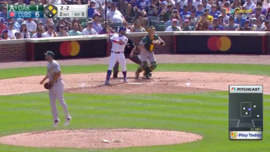 Photo of Watch: Kyle Schwarber Launches 3-Run Opposite Field Home Run