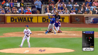 Photo of Watch: Caratini Takes deGrom Deep for Second Time, Gives Cubs Lead w/ Three-Run Bomb