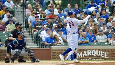 Photo of The Rundown: Big Stick Nick Hammers Brewers, Cubs One Game Out,  Reinforcements Coming