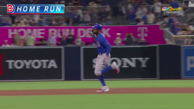 Photo of Watch: J-HEY! Heyward's Second Home Run of Night Ties Game Late