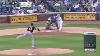 Photo of Watch: Willson Contreras Goes Deep for His Second Homer of Game