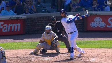 Photo of Kris Bryant Ties Ernie Banks for Most Homers in First 5 Years as Cub