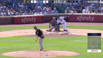 Photo of Video: Kris Bryant Hits 3-Run Home Run in Bottom of 1st, Sets Franchise Record