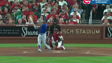 Photo of Video: Robel Garcia Crushes 3-Run Bomb in St. Louis
