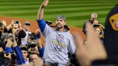 Photo of David Ross Aiming to 'Shock' Cubs Players to Create Work Ethic, Routine