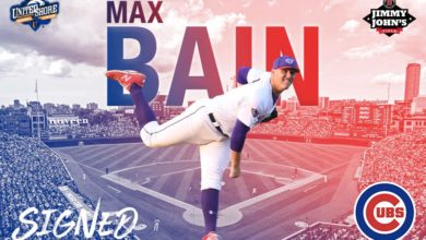 Photo of Cubs Sign 22-Year-Old Righty Max Bain, Who Looks and Sounds Like Comic Book Character