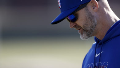 Photo of David Ross Undecided on Where He'll Bat Pitchers in Lineup
