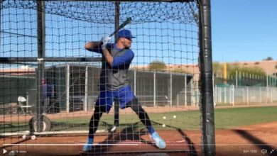 Photo of Kris Bryant Displays New Batting Stance Aimed at Countering High Fastballs