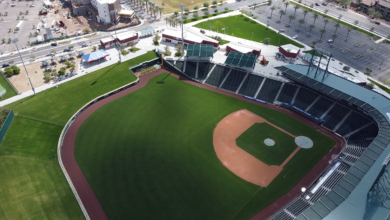 Photo of Watch: Drone Footage of Sloan Park, Craig Kimbrel Working Out, and More