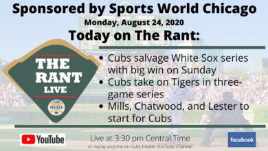 Photo of The Rant Live: Previewing Chicago Cubs vs. Detroit Tigers, Cubs Salvage Weekend Series, and More
