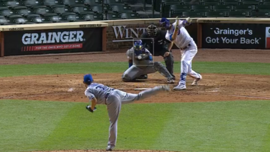 Photo of Watch: Kris Bryant Lines First Home Run of 2020