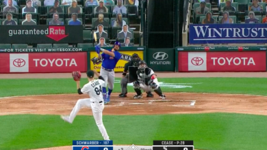 Photo of Watch: Kyle Schwarber Opens Scoring with Home Run