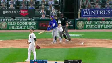 Photo of Watch: Willson Contreras Launches Three-Run Home Run Off Dylan Cease