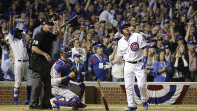 Photo of Re-live One of The Greatest Moments of The Cubs World Series Run as Miguel Montero Breaks Down His NLCS Grand Slam